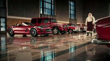 Mercedes-Benz TV Spot, 'Santa's Garage'
