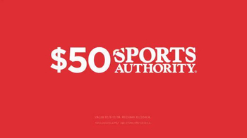 Sports Authority Holiday Sale TV Spot, 'It's Here!'