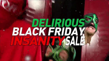 ROH Wrestling Delirious Black Friday Insanity Sale TV Spot