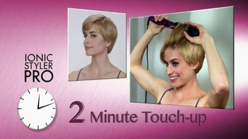 Instyler Ionic Styler Pro TV Spot, 'Blend the Two Together'