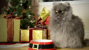 Friskies TV Spot, 'Hard To Be a Cat at Christmas'