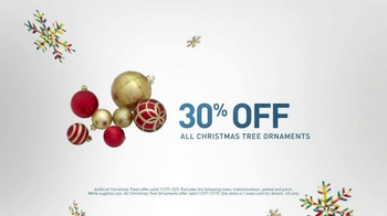 lowes black friday deals tv commercial christmas decorations ispottv - Black Friday Christmas Decoration Deals