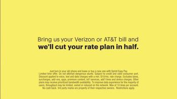 Sprint TV Spot, 'Cut Your Bill in Half' - Thumbnail 10