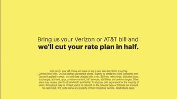 Sprint TV Spot, 'Cut Your Bill in Half' - Thumbnail 9