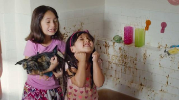 Scrubbing Bubbles Bathroom Cleaner TV Spot, 'New Pet'