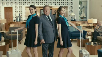 Priceline.com TV Spot, 'Know a Guy' Featuring William Shatner, Kaley Cuoco
