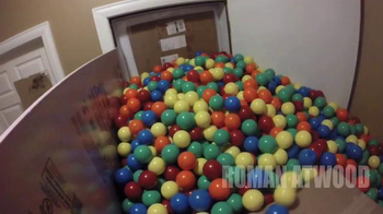 Nissan Super Bowl 2015 Campaign TV Spot, 'Roman Atwood's Ball Pit Prank'