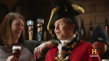 Samuel Adams Boston Lager TV Spot, 'History Channel: Sons of Liberty'