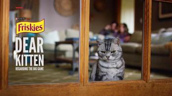 Friskies Super Bowl Teaser TV Spot, 'Dear Kitten: Regarding the Big Game'