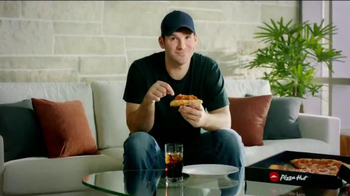Pizza Hut Triple Cheese Covered Stuffed Crust TV Spot, 'Play' Ft. Tony Romo