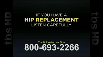 GoldWater Law Firm TV Spot For Hip Repalcement - Thumbnail 1
