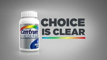 Centrum Silver TV Spot, 'The Choice is Clear'