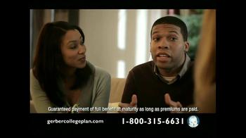 Gerber Life TV Spot for College Plan