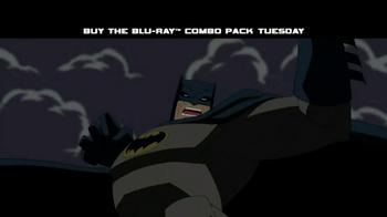 Batman: The Dark Knight Returns on Blu-Ray TV Spot