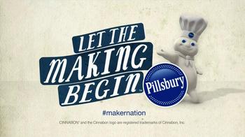 Pillsbury Cinnabon Rolls TV Spot, 'Break It Down'