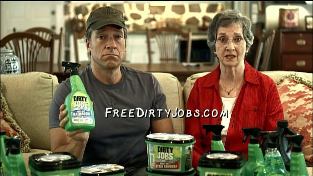 Dirty Jobs Cleaning Products Tv Commercial Saint Ispot Tv