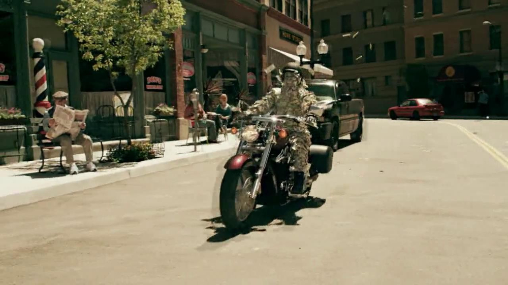 GEICO Motorcycle Money Man TV Commercial, Driving Through - iSpot.tv