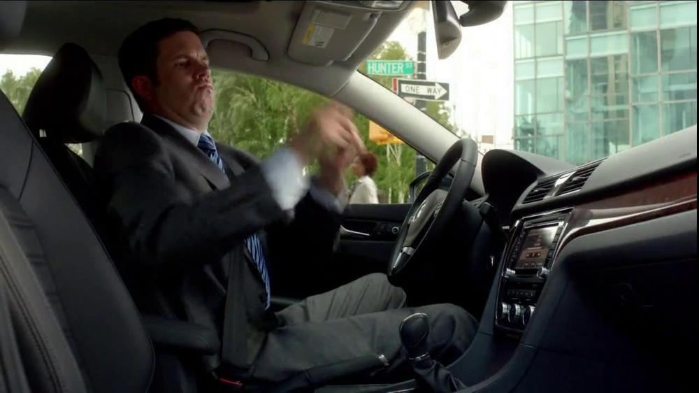 volkswagen passat tv commercial  longer invisible ispottv