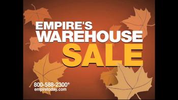 Empire Today Warehouse Sale TV Spot