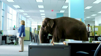 Spiriva TV Spot, 'Office Elephant' - Thumbnail 7