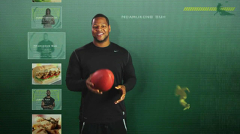 Subway Tuscan Chicken Melt TV Spot Featuring Ndamukong Suh - 173 commercial airings