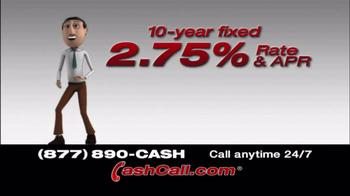 Cash Call TV Spot, '10 Year Fixed'