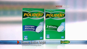 Polident TV Spot, \'Medi Facts\'