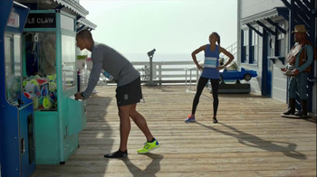 Nike Free TV Spot, 'Toy Claw' Featuring Ashton Eaton and Allyson Felix - Thumbnail 2