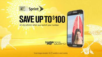 Sprint Truly Unlimited Data TV Spot, 'Summer'