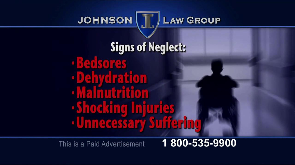 Pulaski Law Firm >> Johnson Law Group TV Commercial, 'Nursing Home Neglect ...
