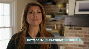 HGTV Website TV Spot, 'Help Around the Home' Featuring Genevieve Gorder