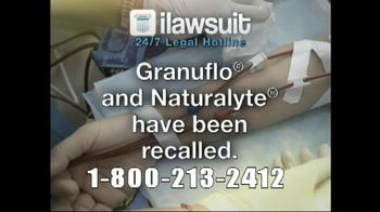 iLawsuit Legal Hotline TV Spot, 'Dialysis'