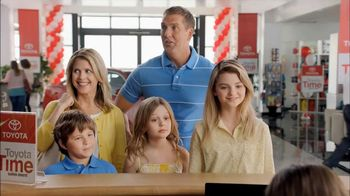 Toyota Time Sales Event TV Spot, 'Hansen Family' - 369 commercial airings