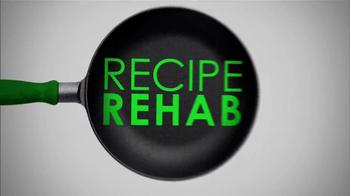 HarperCollins Publishers Recipe Rehab Cookbook TV Spot