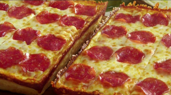Little Caesars Deep, Deep Dish Pizza TV Spot, 'Hot-n-Ready'