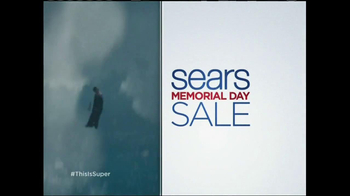 Sears Memorial Day Mattress Spectacular TV Spot, 'Man of Steel' - 1350 commercial airings
