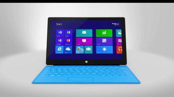 Microsoft Surface RT TV Spot