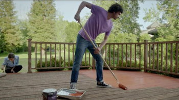 BEHR Paint DeckOver TV Spot, 'Dance Party' Song by Robert Parker