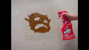 Resolve Stain Remover TV Spot, 'Carpet Monsters'