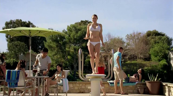 Tampax Pearl TV Spot, 'Splash' - 4058 commercial airings