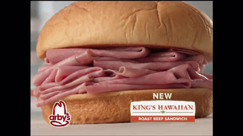 Arby's King's Hawaiian Roast Beef Sandwich TV Spot, 'It's Ono' - Thumbnail 1