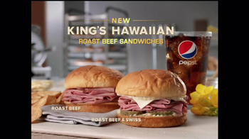 Arby's King's Hawaiian Roast Beef Sandwich TV Spot, 'It's Ono' - Thumbnail 10