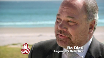 Arby's King's Hawaiian Roast Beef Sandwich TV Spot Feat. Bo Dietl