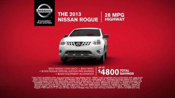 Nissan Rogue TV Spot - Thumbnail 5