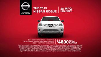 Nissan Rogue TV Spot - Thumbnail 6