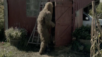 Jack Link's Beef Jerky TV Spot, 'Messin' with Sasquatch: Bucket Prank'