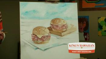 Arby's King's Hawaiian Roast Beef Sandwich TV Spot, 'Fun Arts' - Thumbnail 9