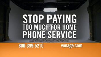 Vonage TV Spot, 'Mountain of Bills'