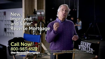 One Reverse Mortgage TV Spot, 'On Set' Featuring Henry Winkler