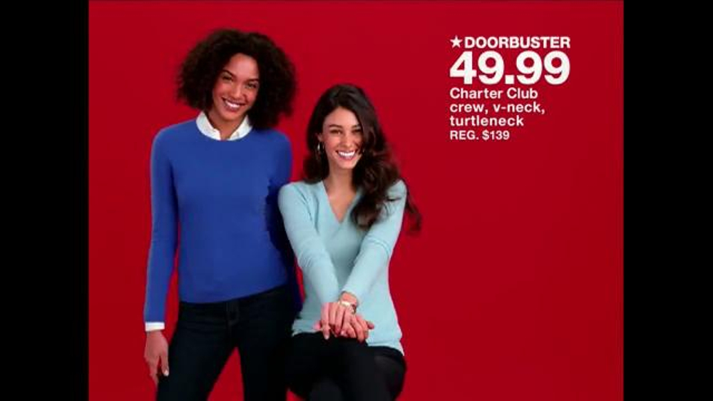Macy S One Day Sale Tv Commercial Sweaters And More